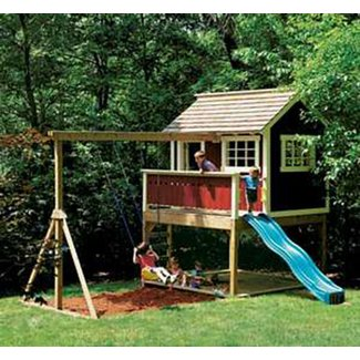 Outdoor Wooden Playhouses - Ideas on Foter on