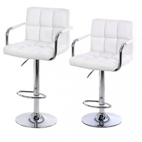 Leather bar stools with backs 11