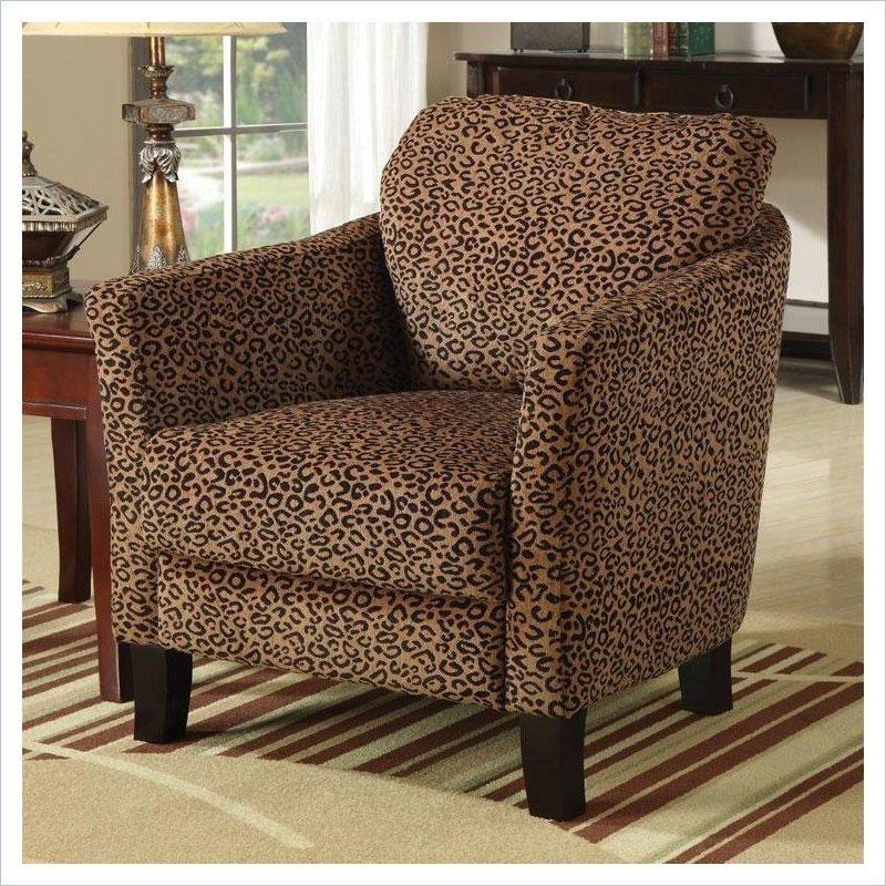 Merveilleux Leopard Print Chairs
