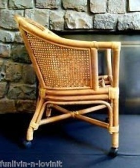 Bamboo Arm Chair Foter