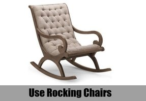 Modern rocking chairs for nursery 4