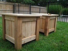 Outdoor wood box foter outdoor wood box 4 workwithnaturefo
