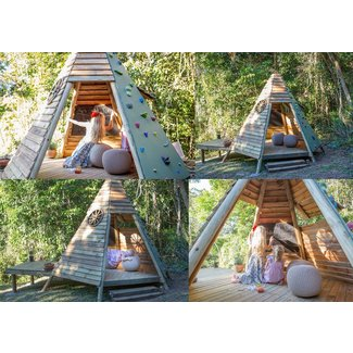 Outdoor Wooden Playhouses - Ideas on Foter on diy raised garden, diy raised patio, diy raised pool, diy raised deck,