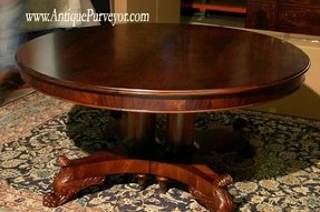 Round dining room table with leaves 11