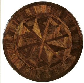 Round dining room table with leaves 7
