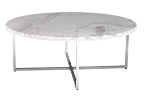 Round marble table 1
