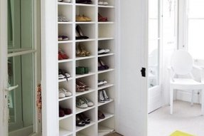 Shoe storage with doors 8