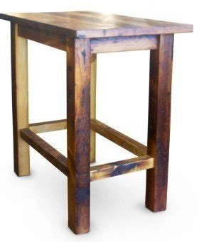 square bar height table 2 - Wooden Bar Table