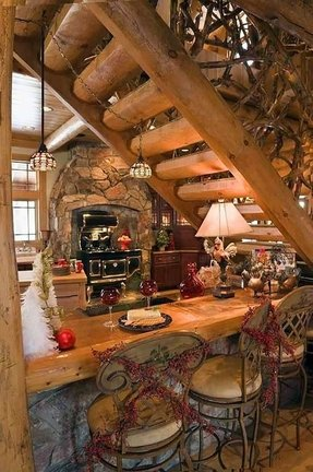 Cabin Bar Stools Foter