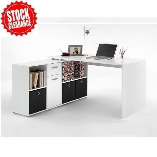 White Corner Computer Desk   Ideas On Foter