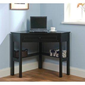 White Corner Desk With Shelves Foter