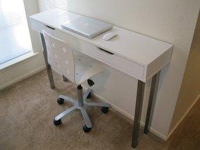 White Corner Desk With Shelves 7