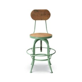 Wood counter height bar stools 6