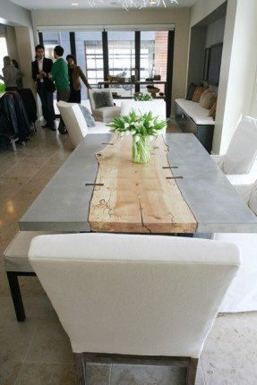 Wood dining table top 1
