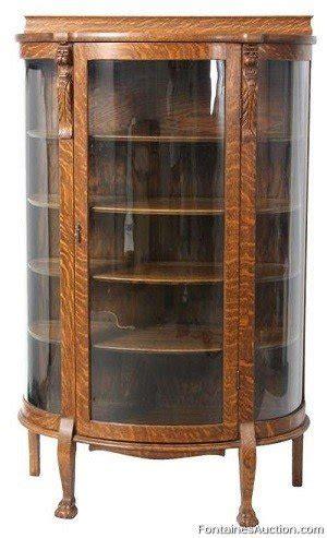 Antique Curio Cabinets 16