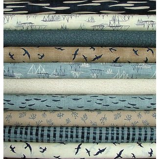 Beach bum fabrics designer collections and quilt kits a line