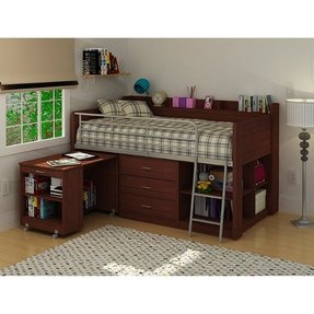 Beds with built in desk