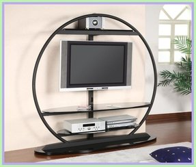 Black Metal Tv Stand Ideas On Foter