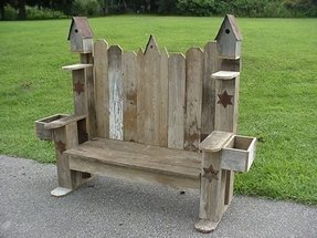 Awe Inspiring Planter Benches Ideas On Foter Caraccident5 Cool Chair Designs And Ideas Caraccident5Info