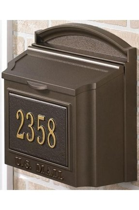 Decorative Wall Mounted Mailboxes Ideas On Foter