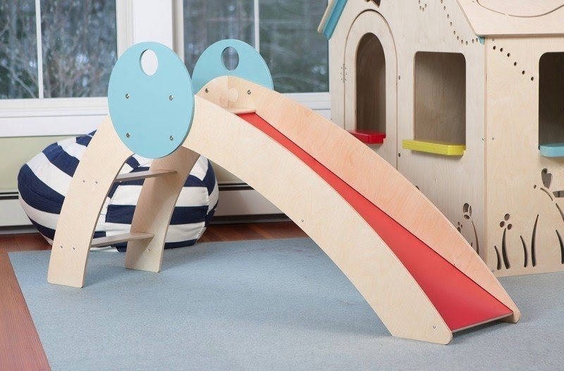 Superb Indoor Playhouse With Slide 1