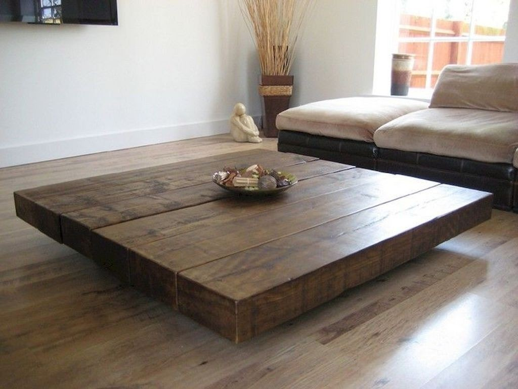 Large Square Coffee Table 19
