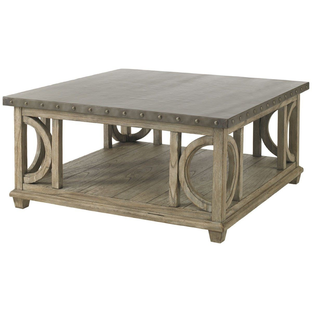 Large Square Coffee Table Wyatt 40 Square Cocktail Table Gray