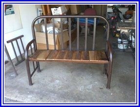 Metal Bed Bench   Ideas on Foter