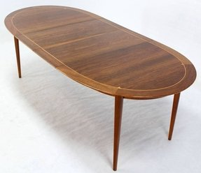 Modern Oval Dining Tables Foter - Modern oval dining table with leaf