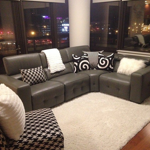 Delicieux Modern Reclining Sectional   Ideas On Foter