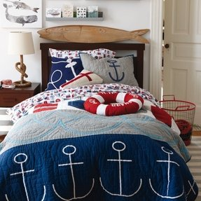 Nautical quilt bedding 5