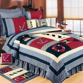 Nautical quilts queen 5