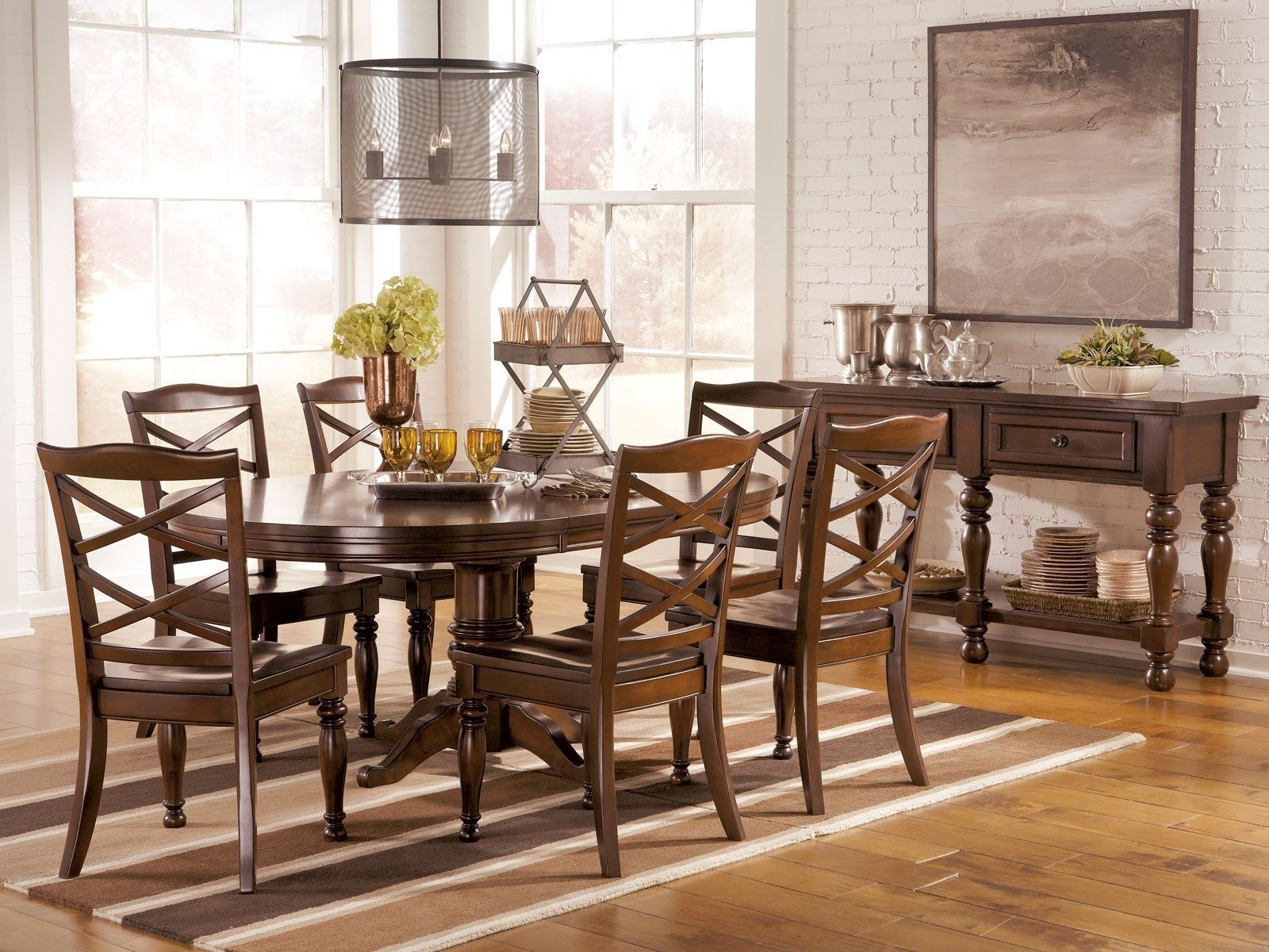 Oval dining table set for 6 & Oval Dining Table Set For 6 - Foter