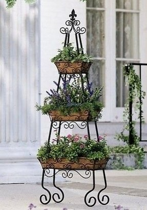 Products 3 tier metal fruit stand