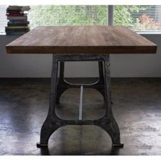 Reclaimed teak dining table india 3