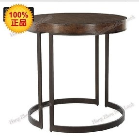 Round metal tables 2