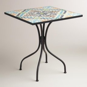 Square bistro table set