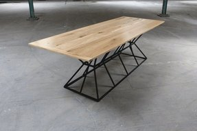 Steel bar table 10