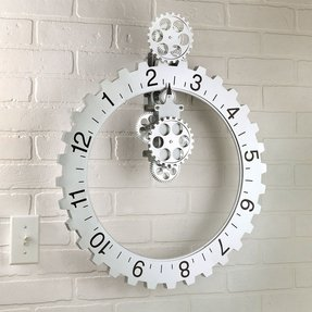Unique modern wall clocks 5