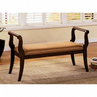 Upholstered benches with arms 24