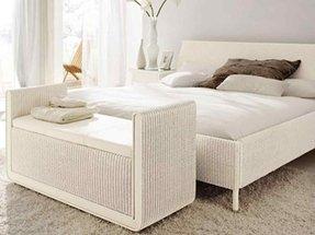 beautiful white wicker bedroom furniture | White Oak Bedroom Furniture - Foter