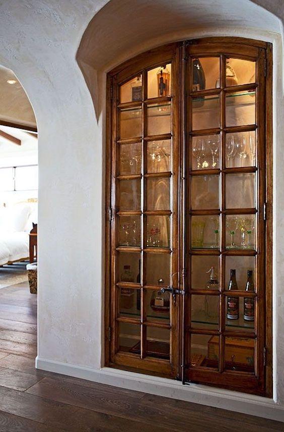 Wine Glass Cabinets 1