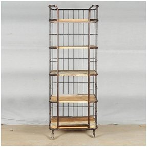 Wood bakers rack 6