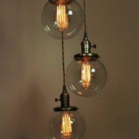 Glass Globe Pendant Light Foter
