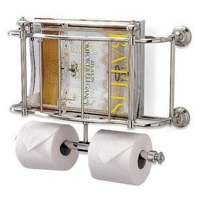 Magazine Holder For Bathroom. Bathroom Magazine Holder