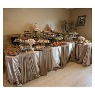 Incredible Black Buffet Tables Ideas On Foter Download Free Architecture Designs Parabritishbridgeorg