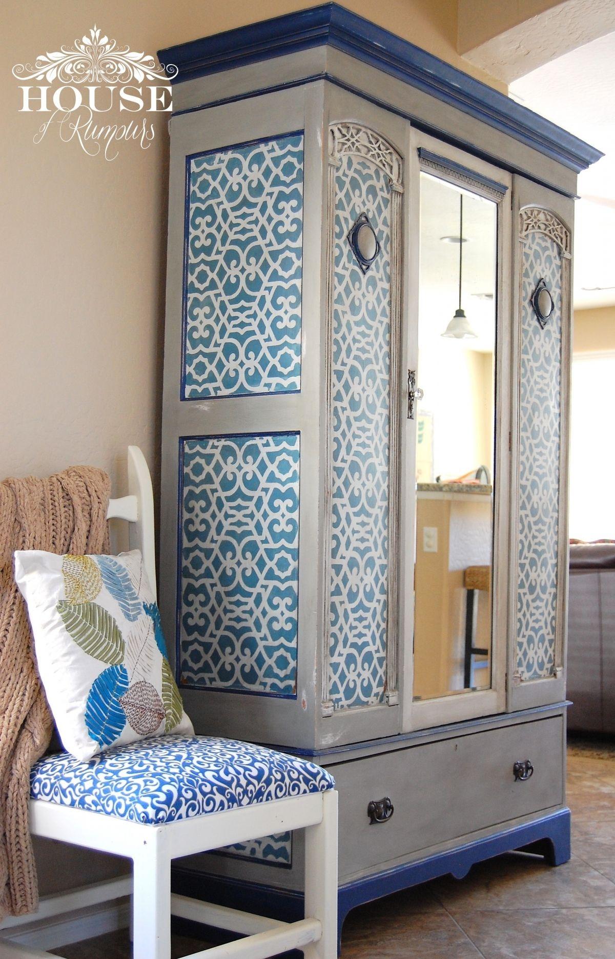 Chez Sheik Moroccan Furniture Stencils For Diy Painted Furniture Royal