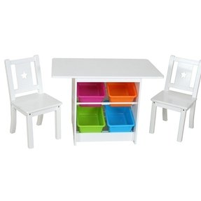 Childrens play table and chairs ikea