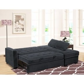 Convertible chaise lounge bed