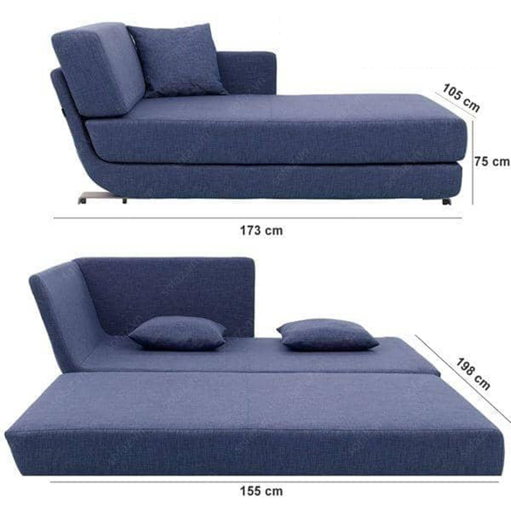 Exceptionnel Convertible Chaise Sofa 13